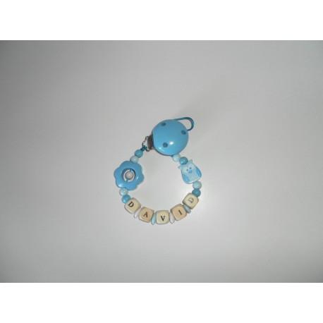 Chupetero buho azul