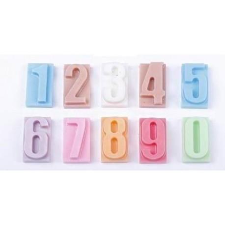 Números de jabón