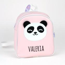Mochila panda rosa