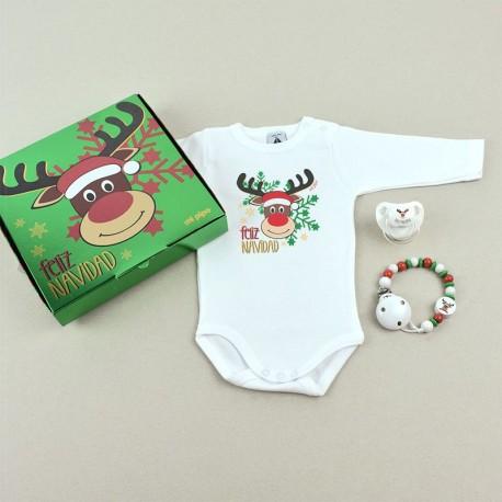 Cajita Feliz Navidad Rudolf