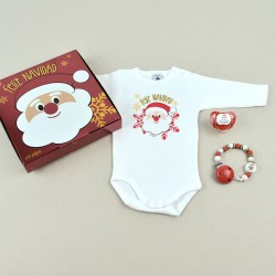 cajita Feliz Navidad Papa Noel